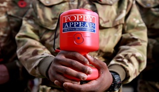 Royal British Legion Poppy Appeal collector