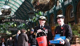 Royal British Legion Poppy Appeal collectors