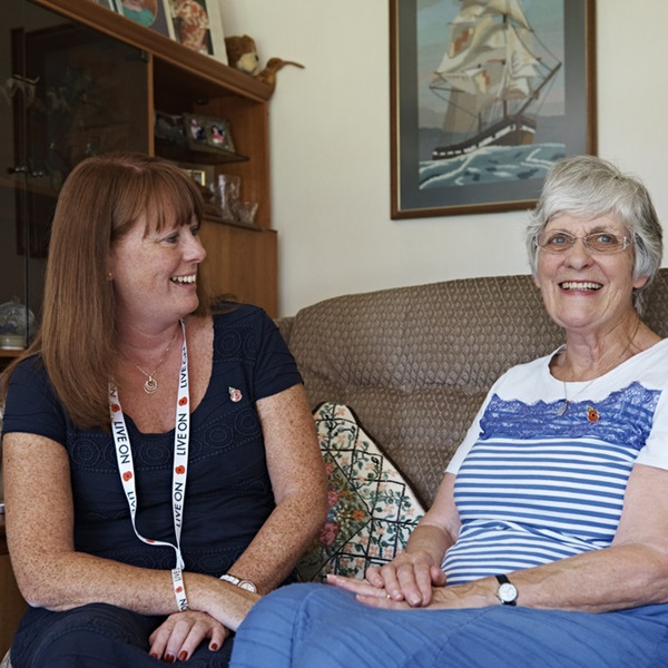 Royal British Legion help living at home