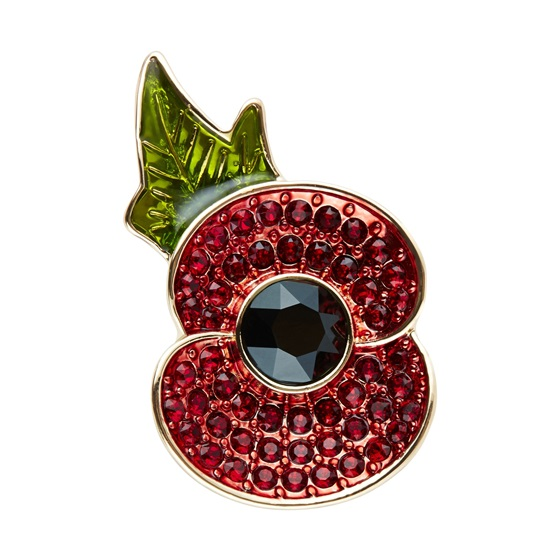 Poppy Collection® brooch for sale at Marks and Spencer