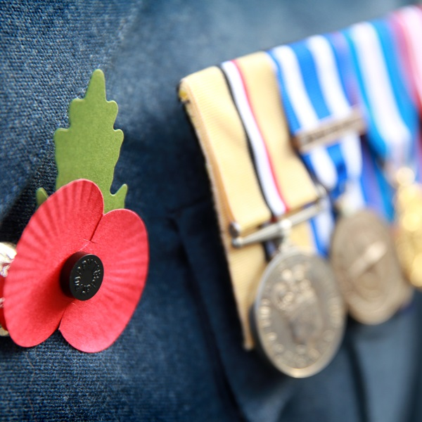 Royal British Legion paper poppy