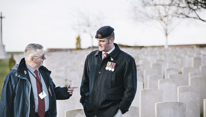 Liam Young on a trip to the battlefields of the First World War