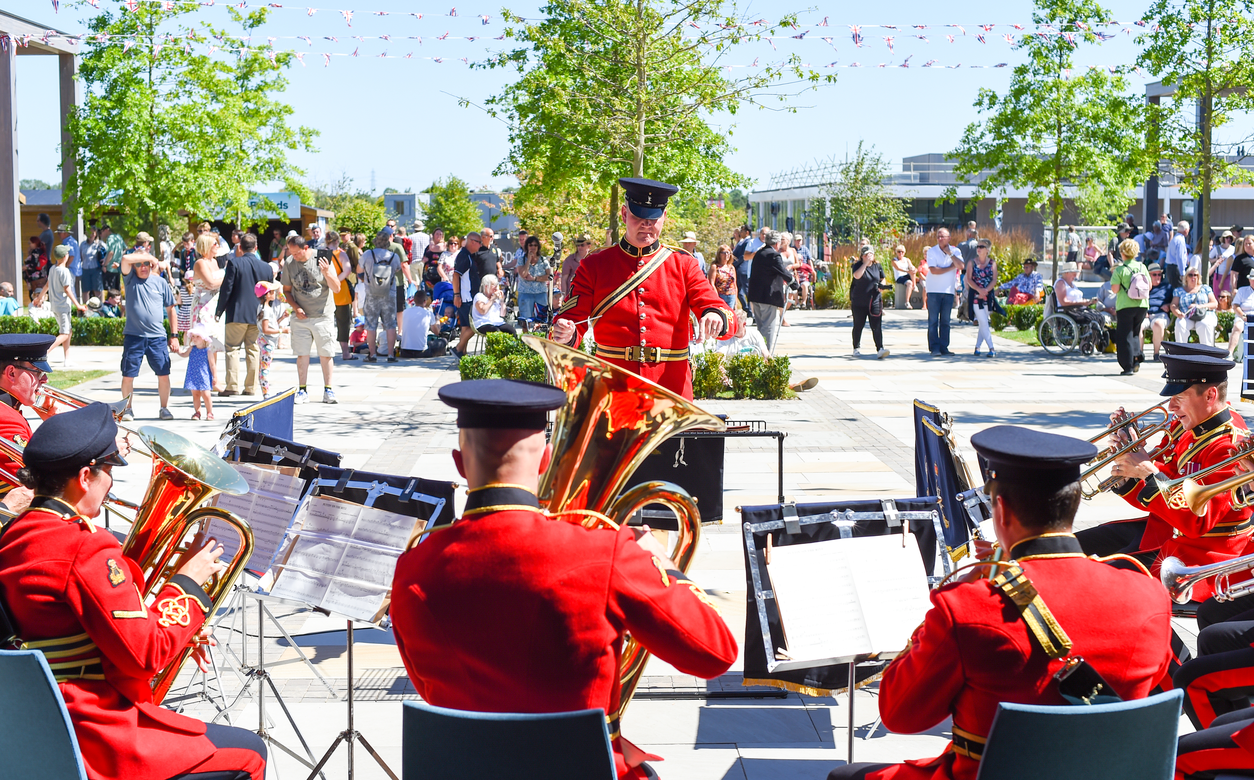 The Band of The Royal Signals - Armed Forces Day National Memorial Arboretum