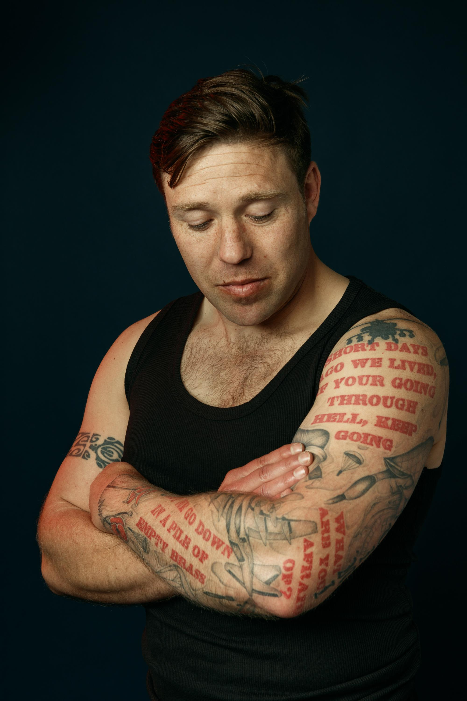 Lawrence Sabatini arm tattoos