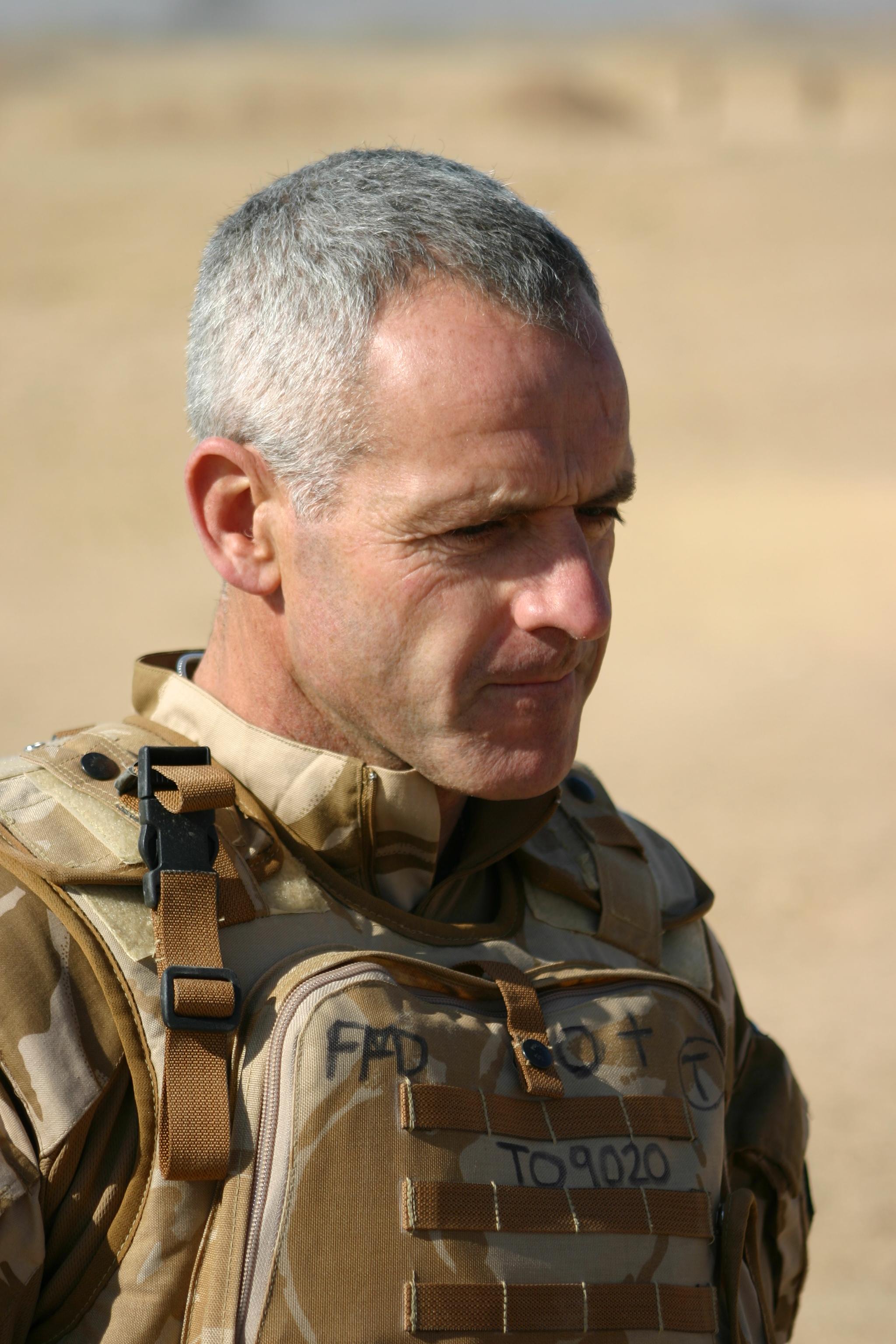 Matt in Afghanistan close up