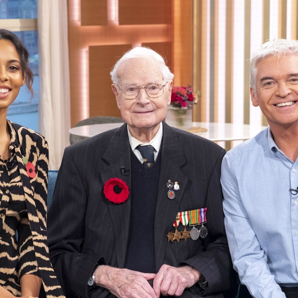Britain's oldest Poppy Appeal collector