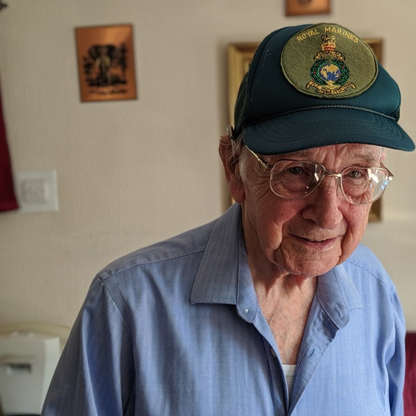 D-Day veteran Jack Smith