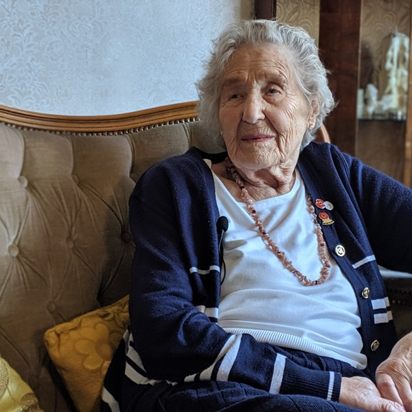 D-Day veteran June Denby