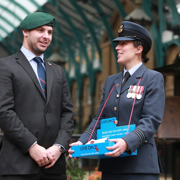 Veteran Nick Fleming on London Poppy Day