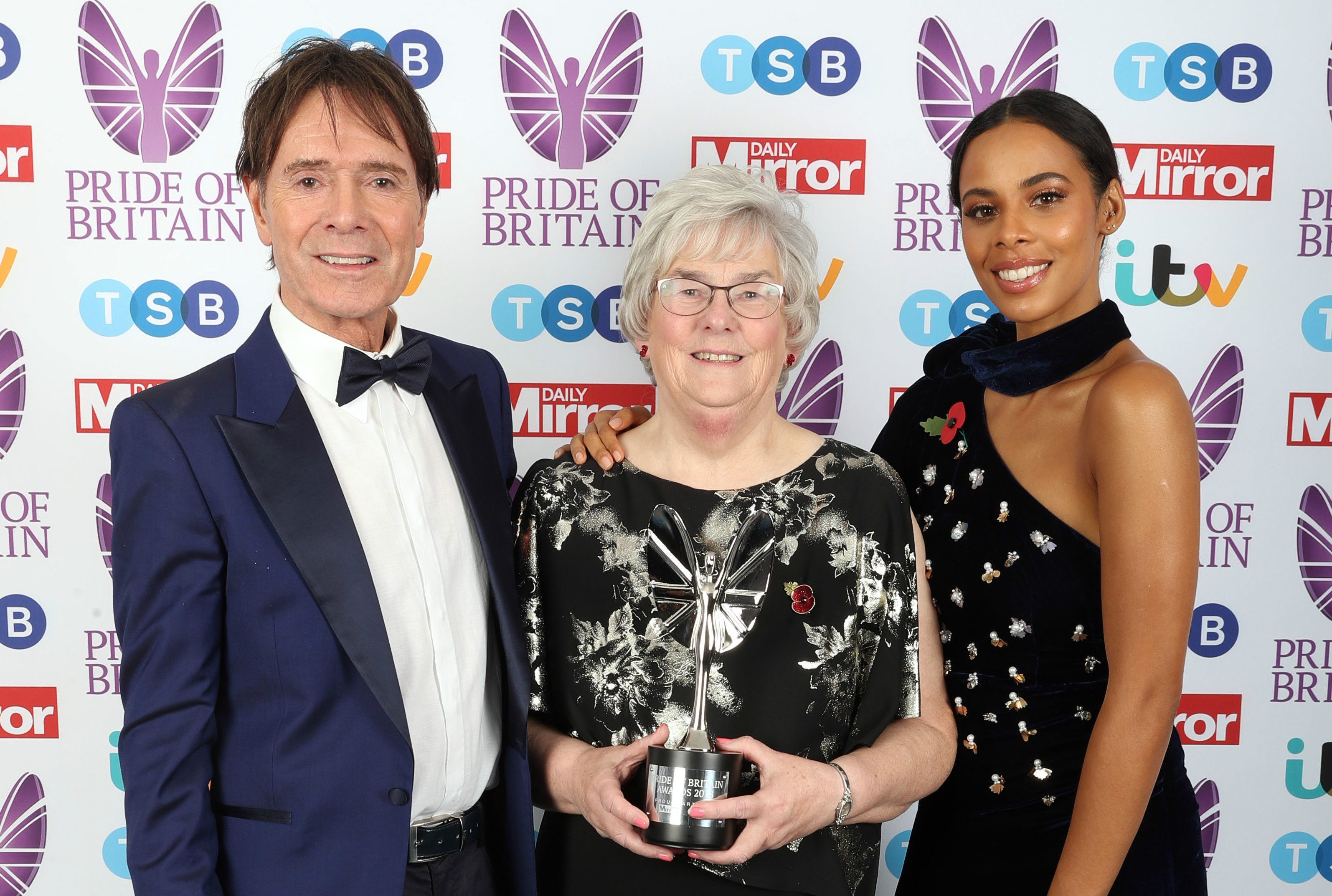 Poppy Appeal organiser wins Pride of Britain